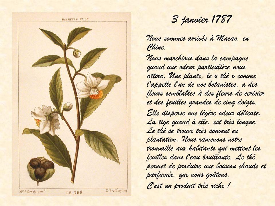 3 janvier 1787
