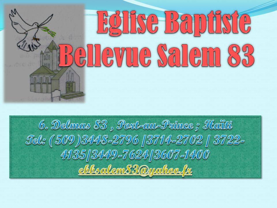 Eglise Baptiste Bellevue Salem 83