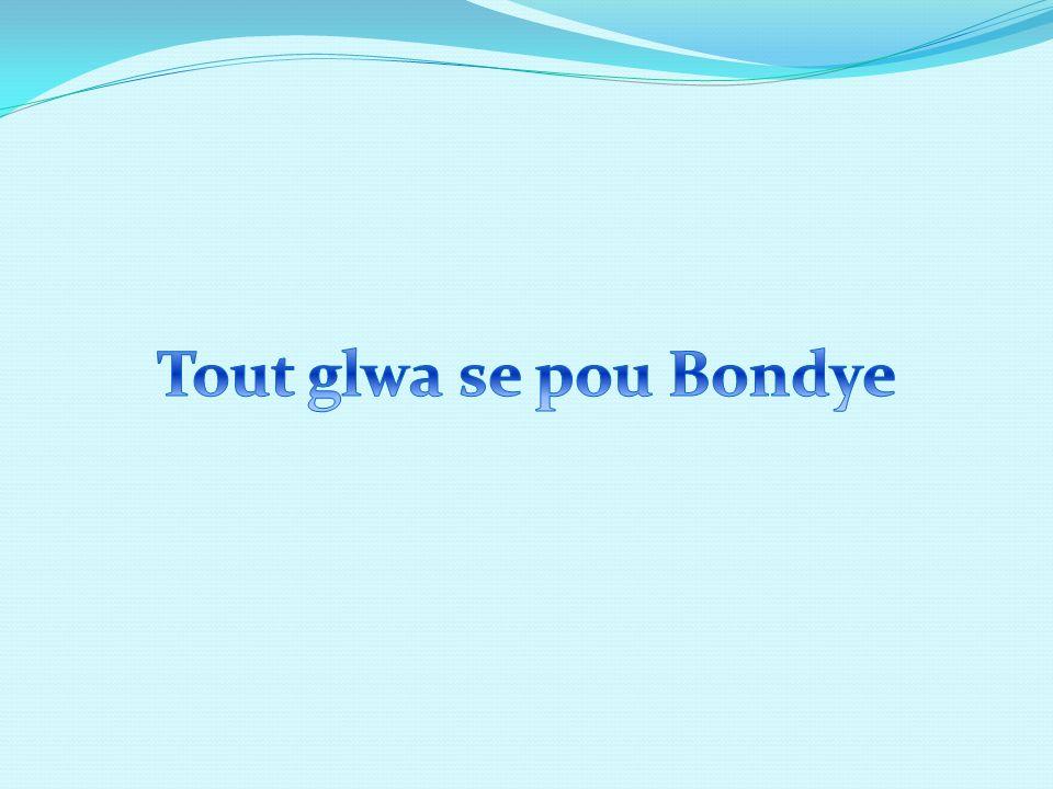 Tout glwa se pou Bondye