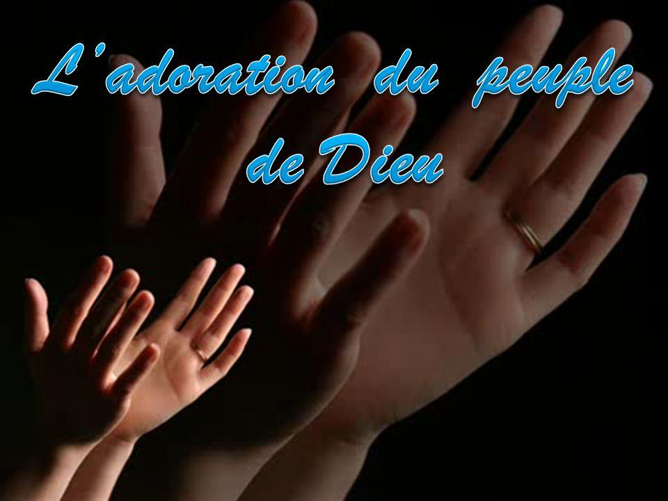 L'adoration du peuple de Dieu