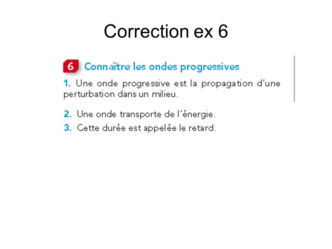 Correction ex 6