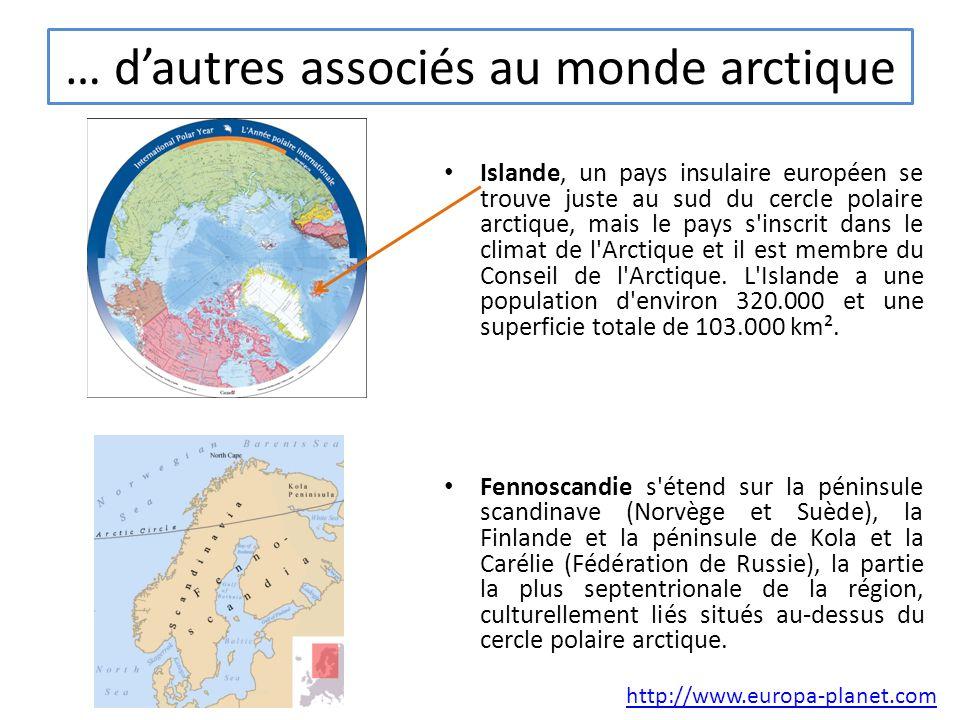 … d'autres associés au monde arctique