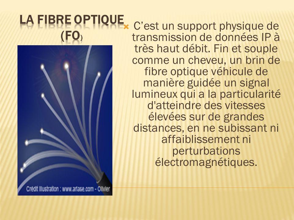 La Fibre Optique (FO)