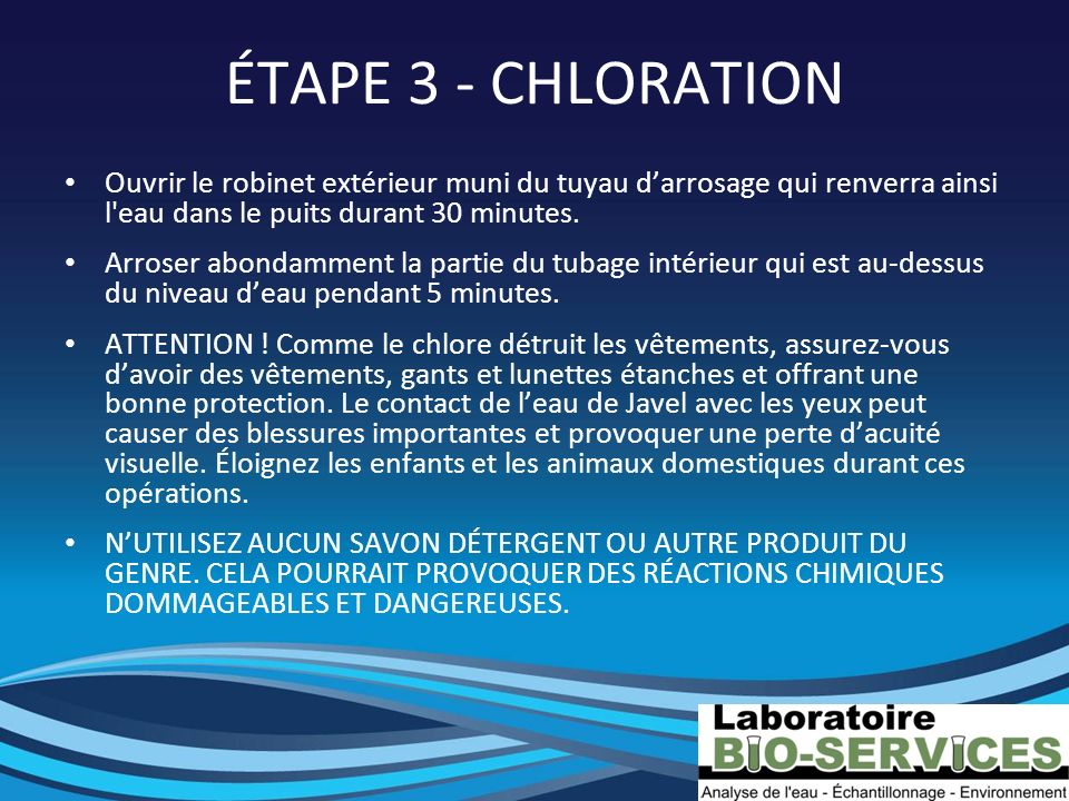 Laboratoire bio services ppt video online t l charger for Dans 30 minutes