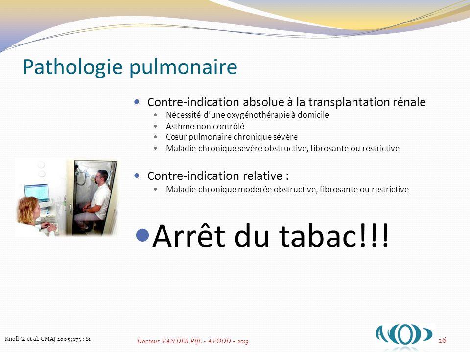 Pathologie pulmonaire