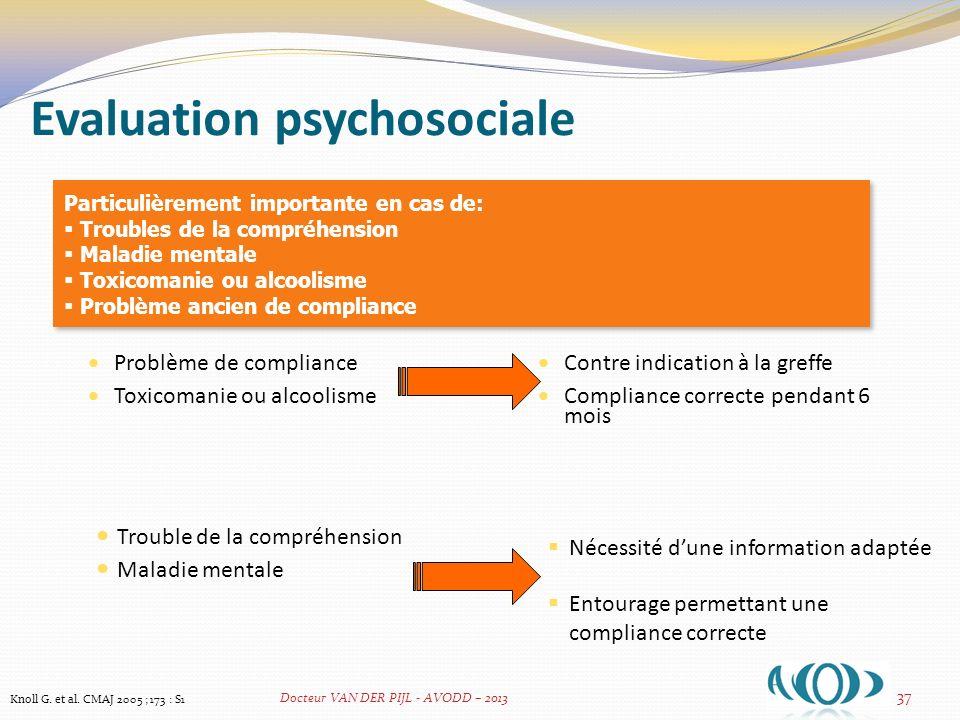 Evaluation psychosociale