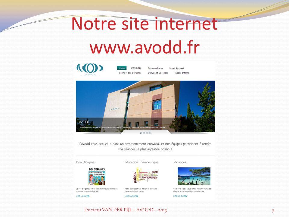 Notre site internet www.avodd.fr
