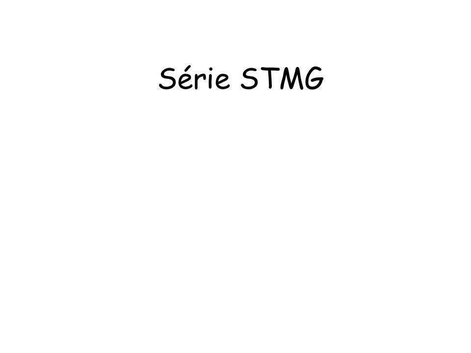 Série STMG