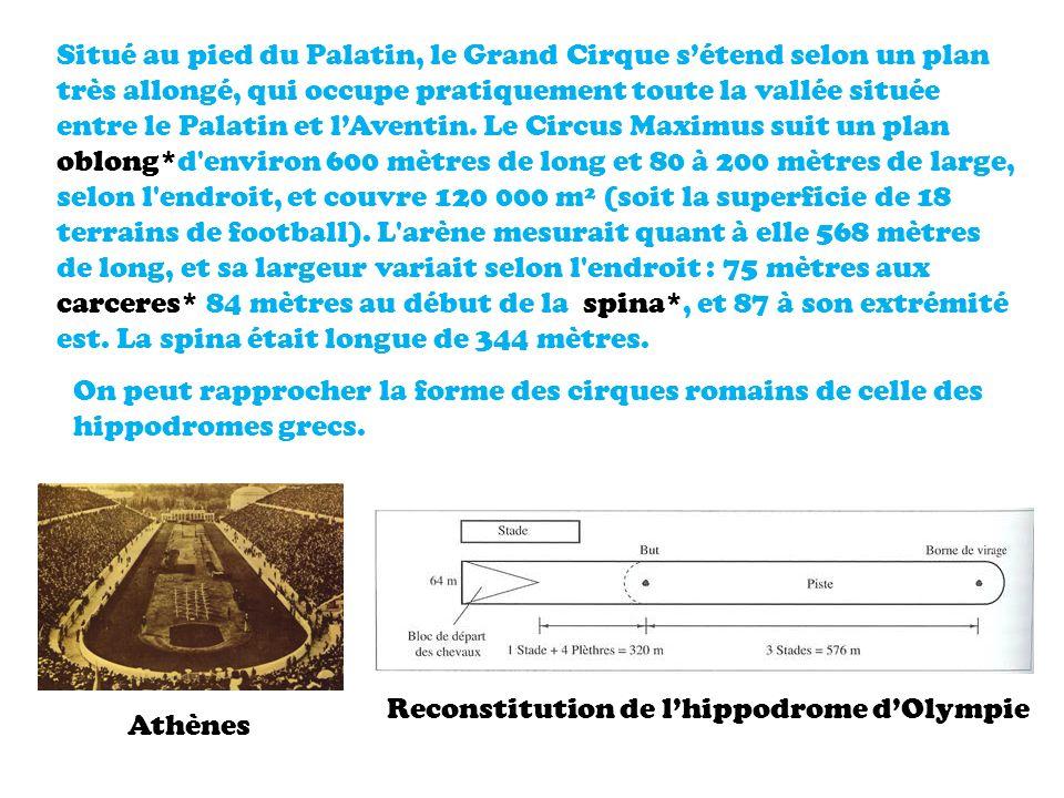 Reconstitution de l'hippodrome d'Olympie