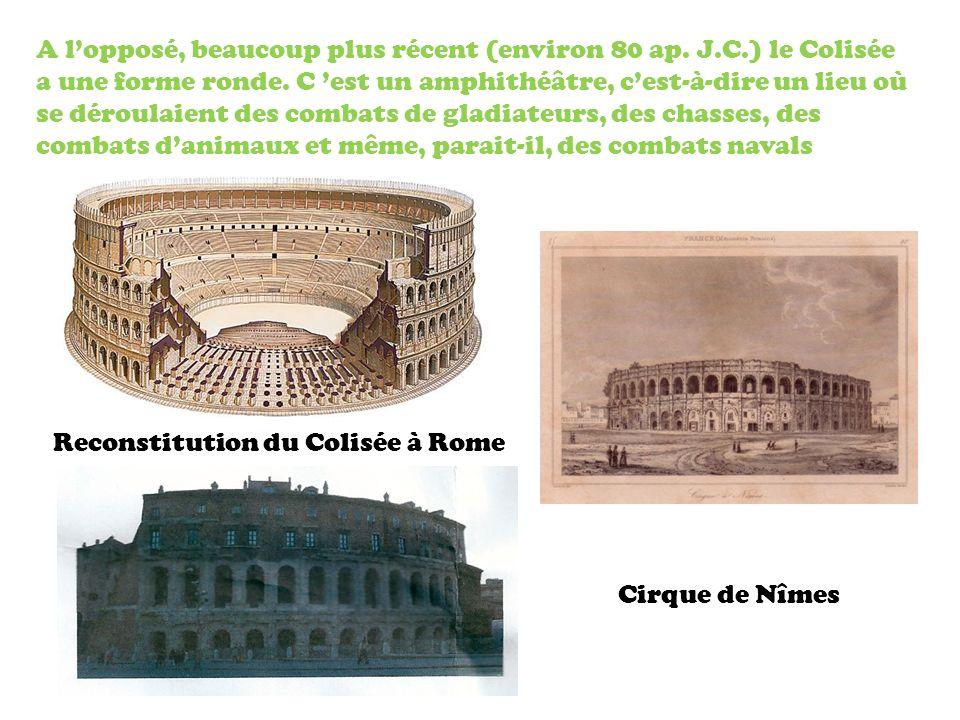 Reconstitution du Colisée à Rome