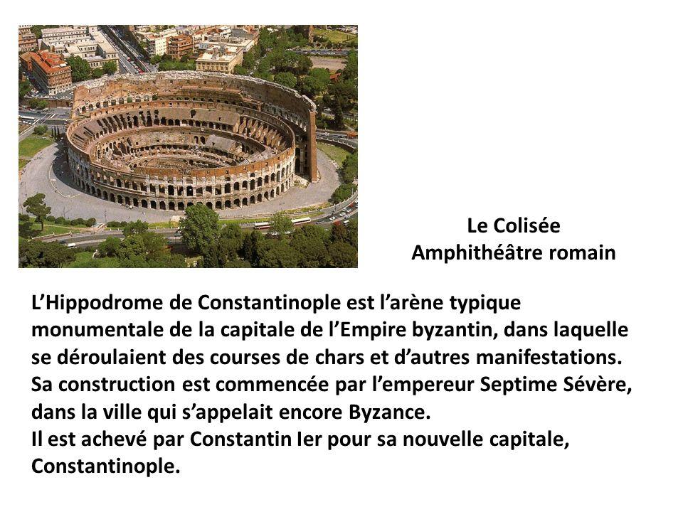 Le Colisée Amphithéâtre romain.