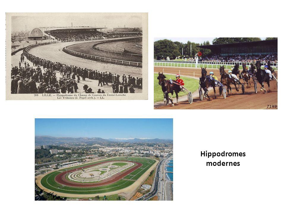 Hippodromes modernes