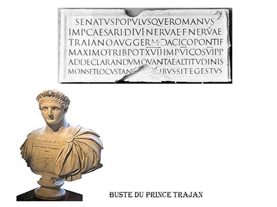 Buste du Prince Trajan