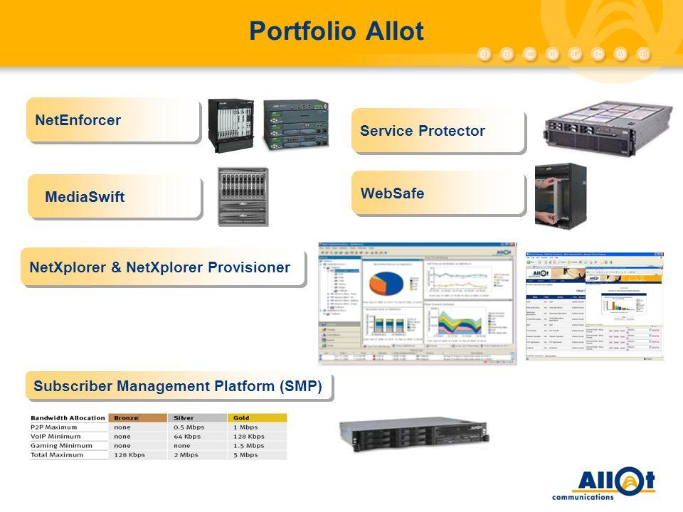 Portfolio Allot NetEnforcer Service Protector WebSafe