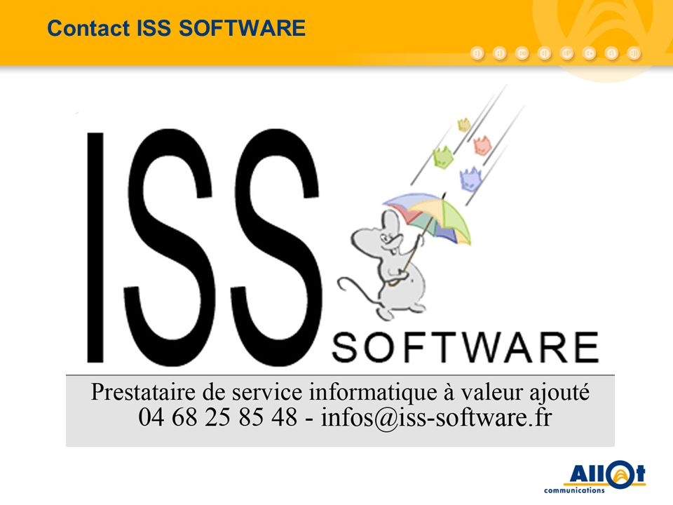 Contact ISS SOFTWARE