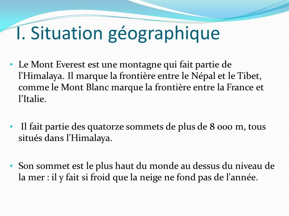 I. Situation géographique