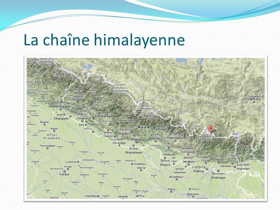 La chaîne himalayenne