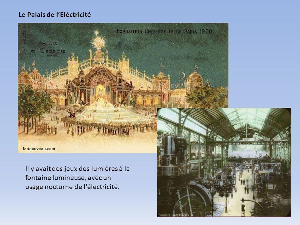 Le Palais de l'Eléctricité