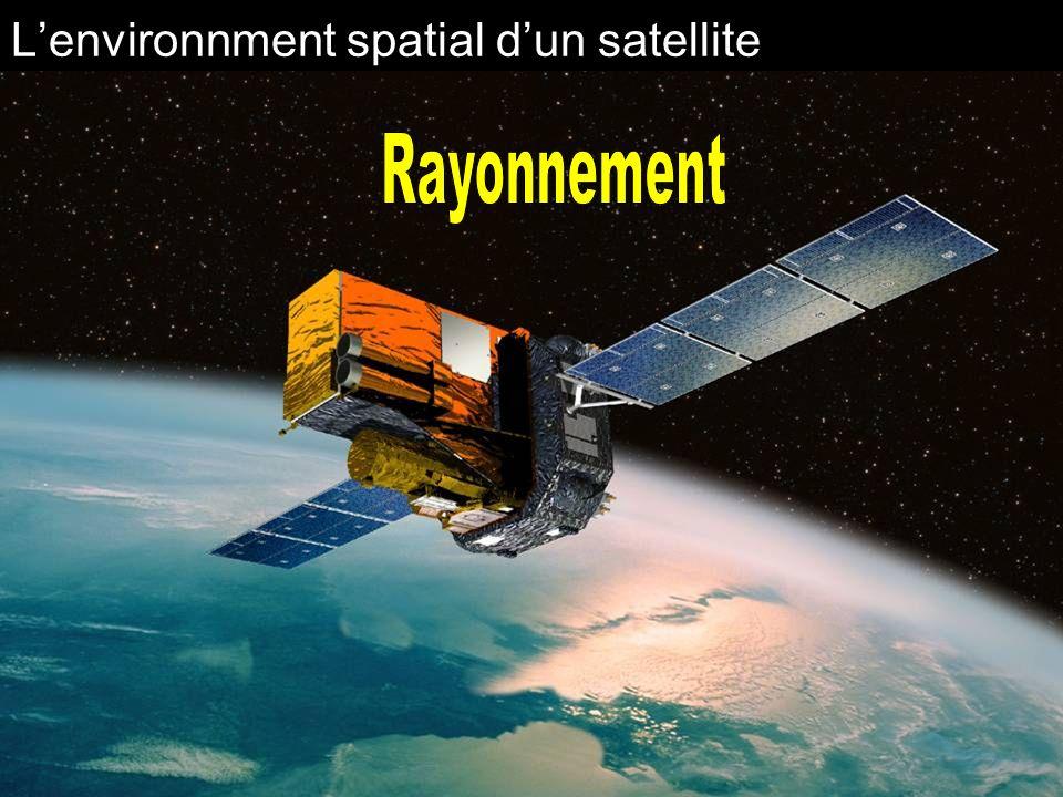 L'environnment spatial d'un satellite