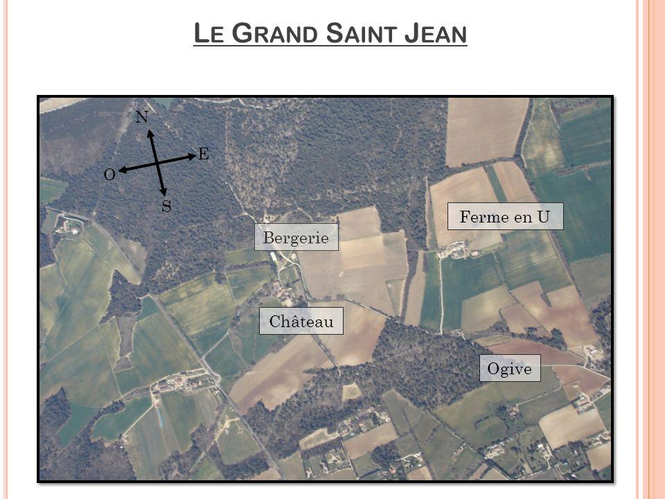 Le Grand Saint Jean N E O S Ferme en U Bergerie Château Ogive