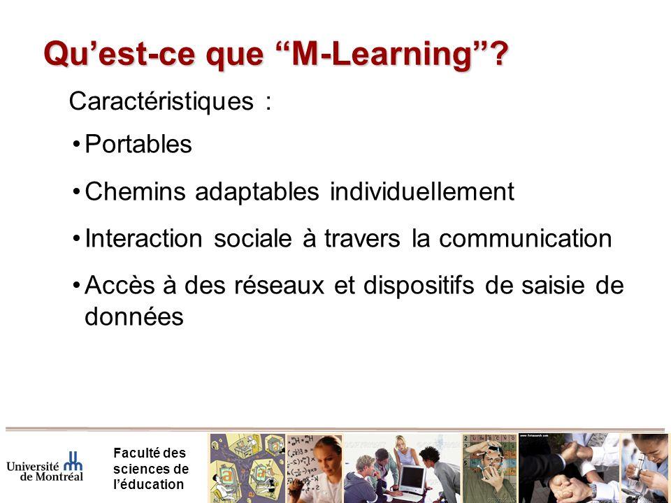 Les technologies mobiles pour l'apprentissage des sciences