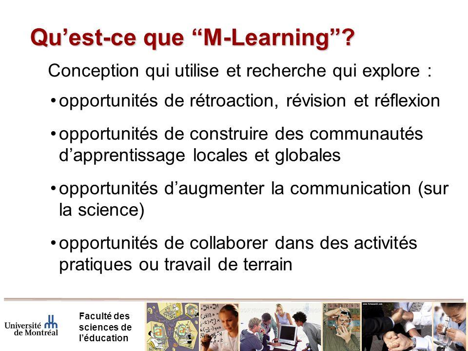 Qu'est-ce que M-Learning
