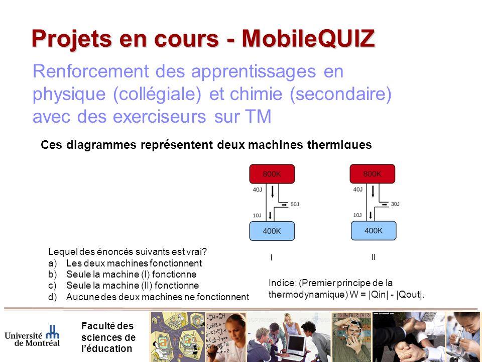 Projets en cours - MobileQUIZ