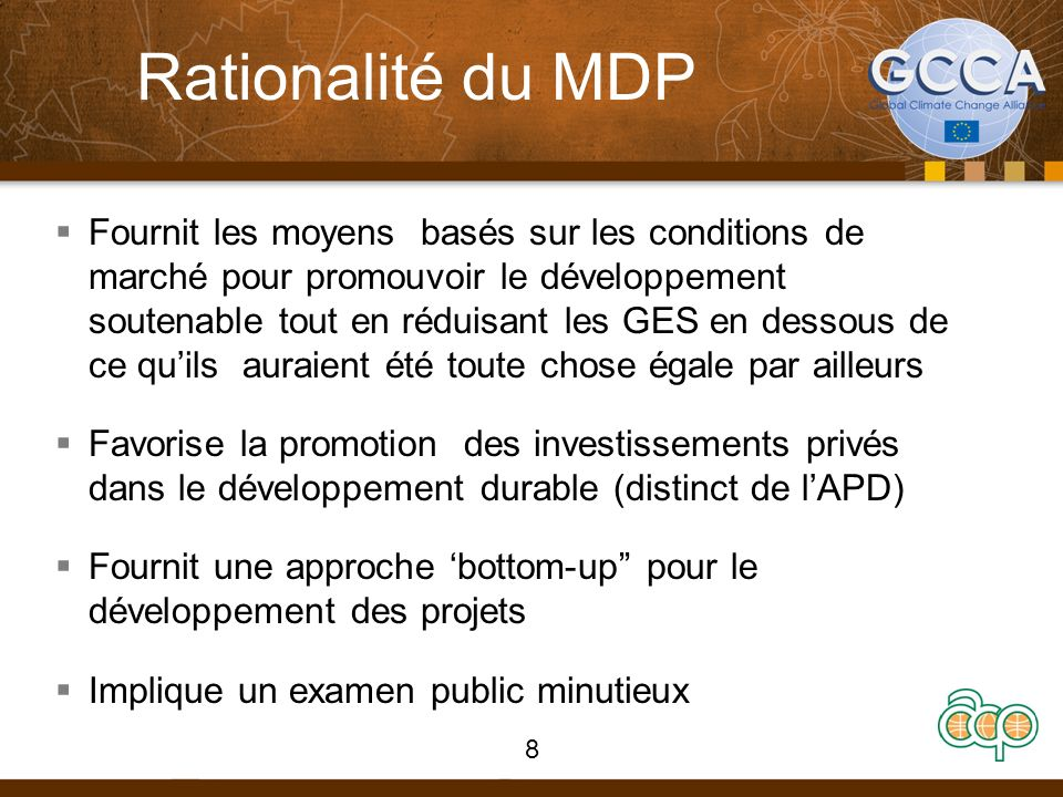 Rationalité du MDP