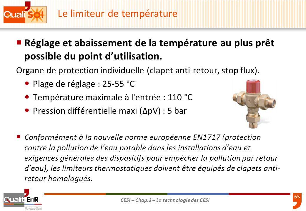 Le limiteur de température