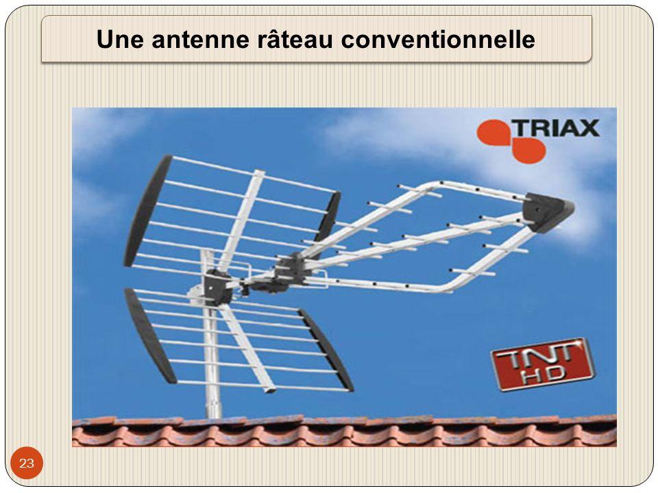 Une antenne râteau conventionnelle