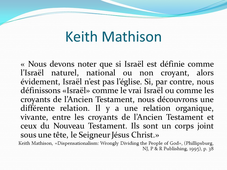 Keith Mathison