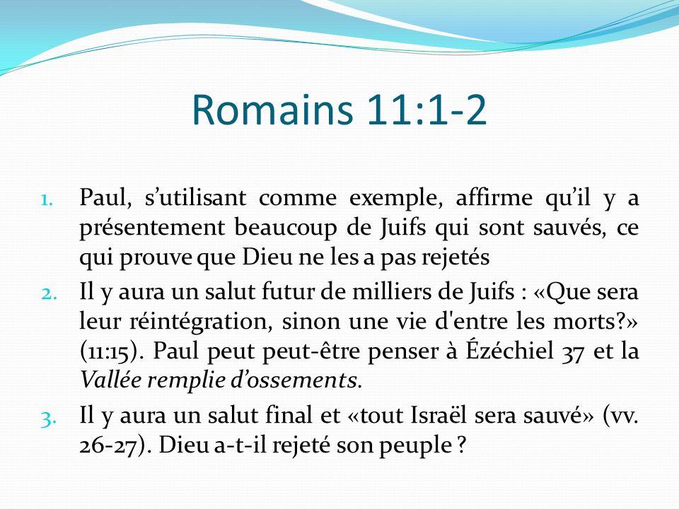 Romains 11:1-2