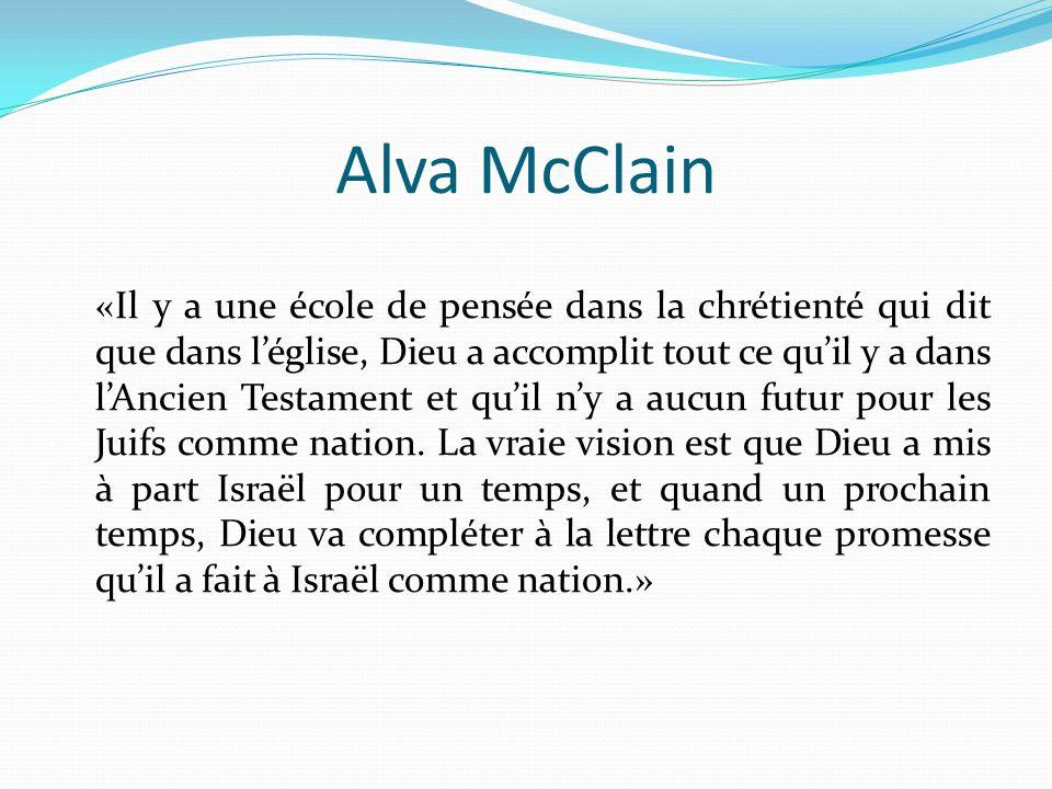 Alva McClain