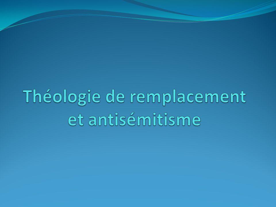 Théologie de remplacement et antisémitisme