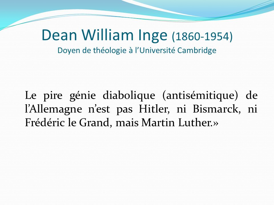 Dean William Inge (1860-1954) Doyen de théologie à l'Université Cambridge