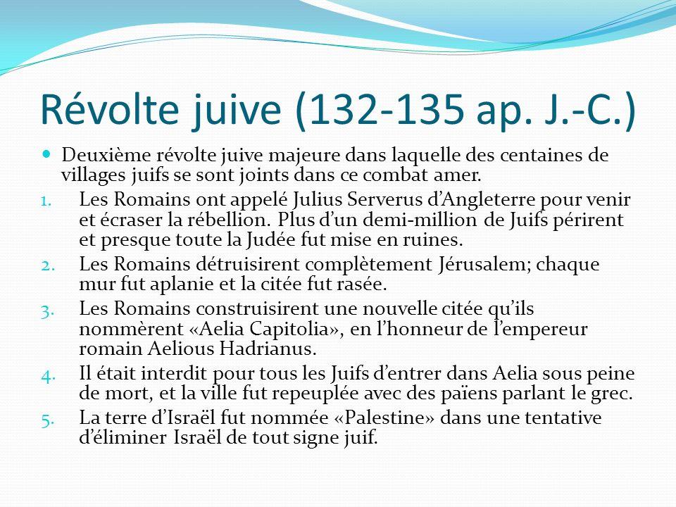 Révolte juive (132-135 ap. J.-C.)