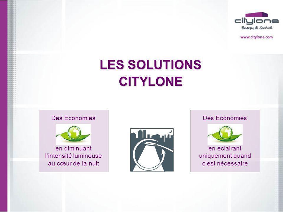 LES SOLUTIONS CITYLONE