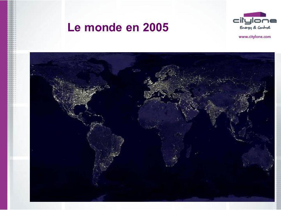 Le monde en 2005