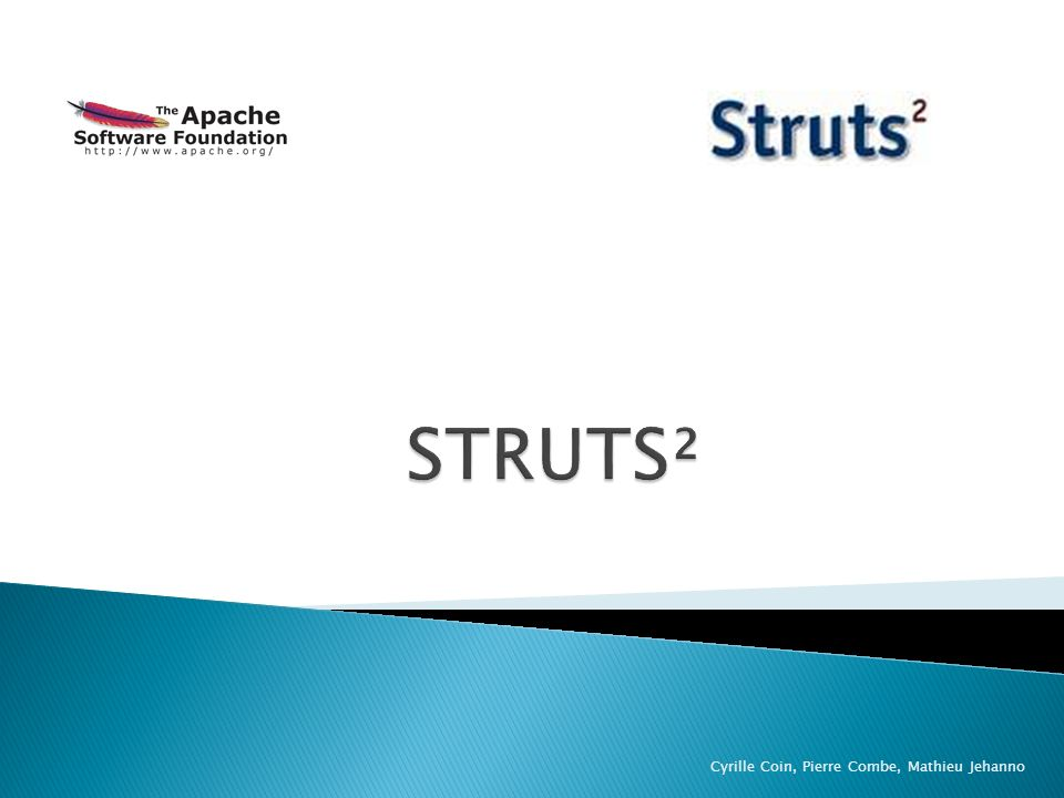 STRUTS² Cyrille Coin, Pierre Combe, Mathieu Jehanno