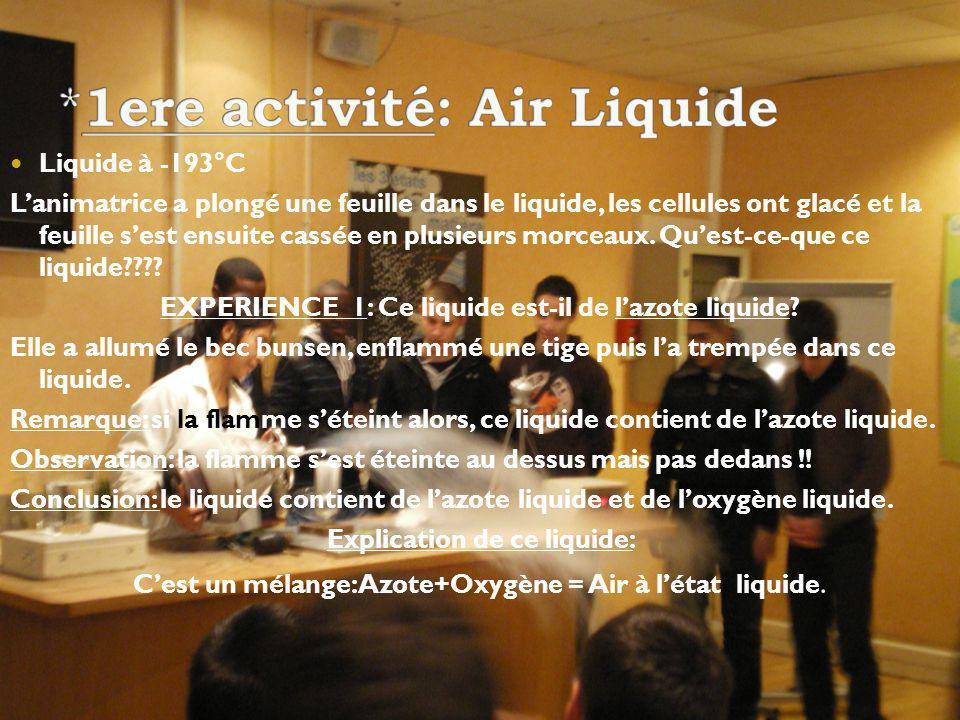 *1ere activité: Air Liquide