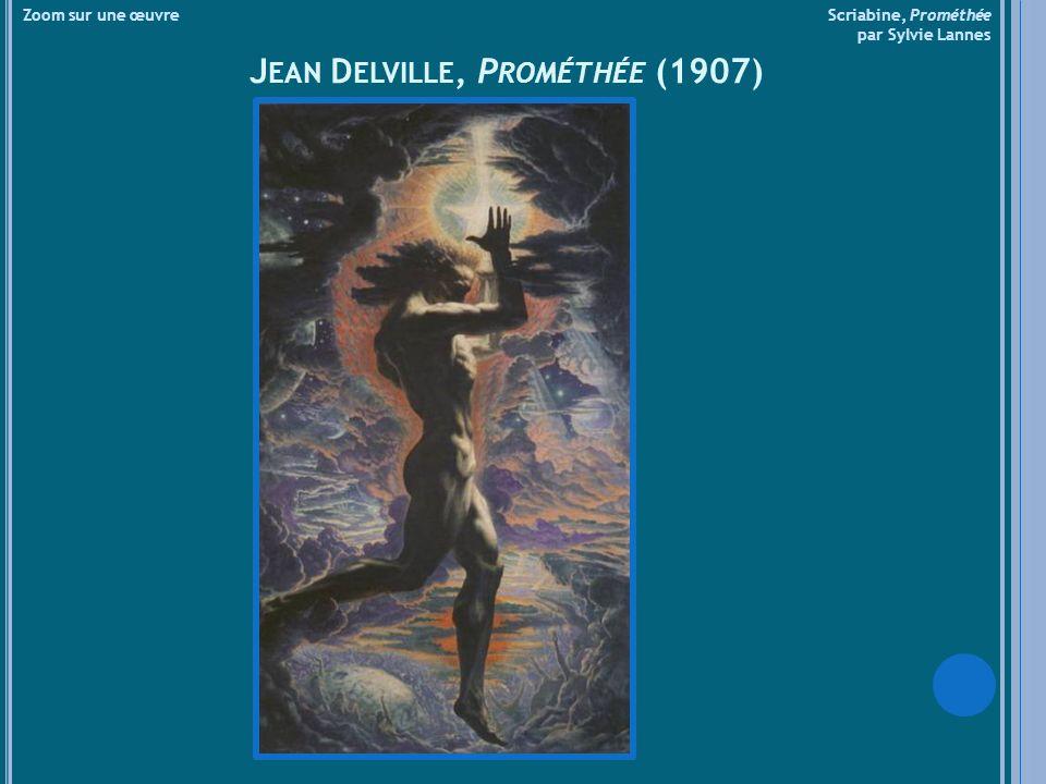 Jean Delville, Prométhée (1907)