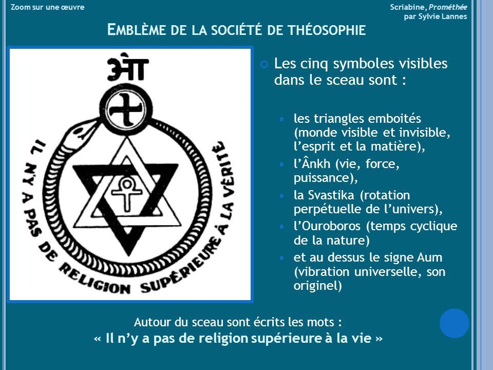 Emblème de la société de théosophie