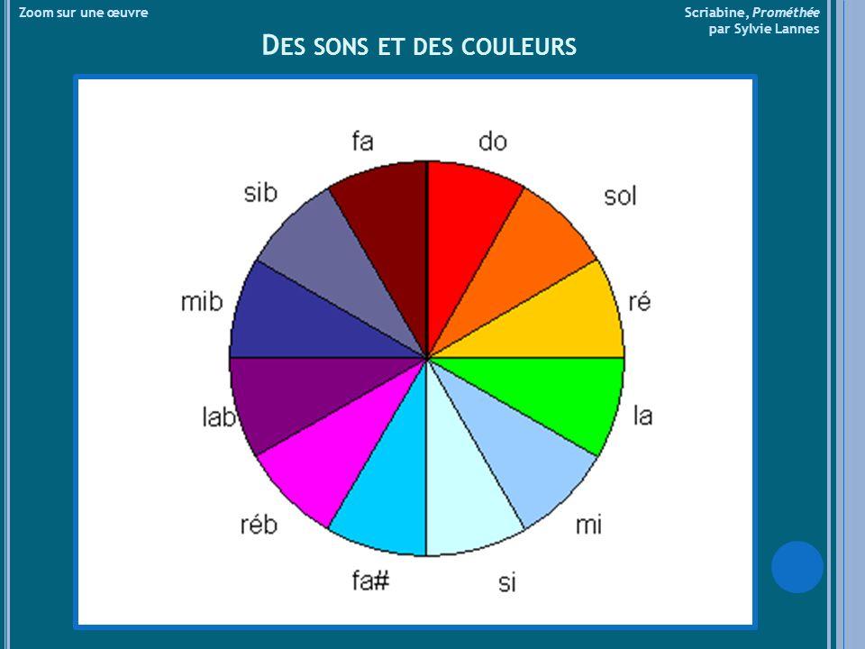 Des sons et des couleurs