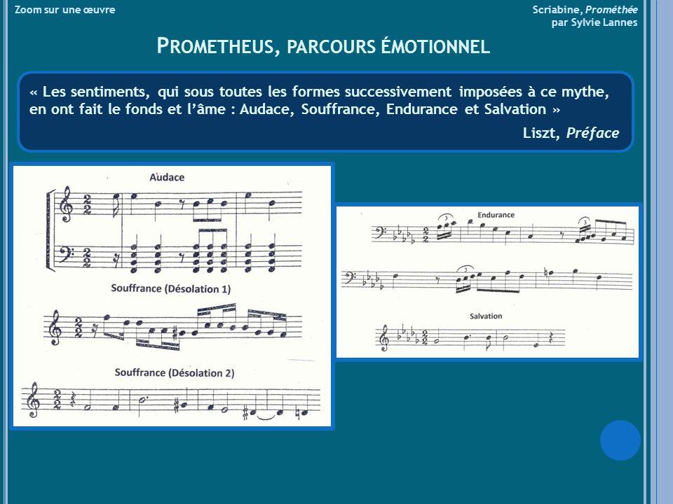 Prometheus, parcours émotionnel