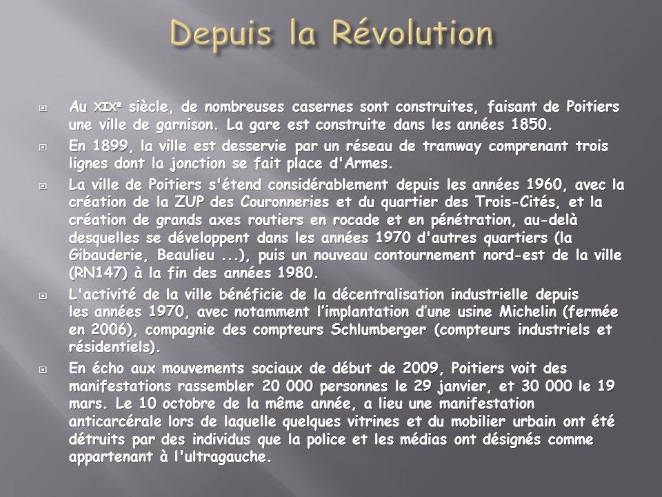 Depuis la Révolution