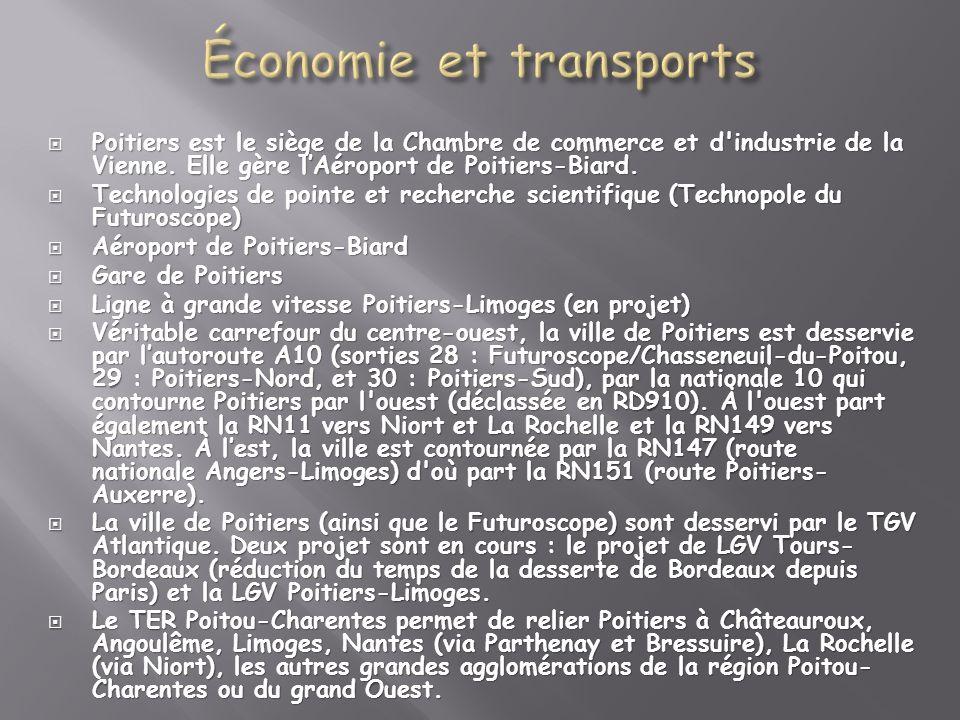 Économie et transports
