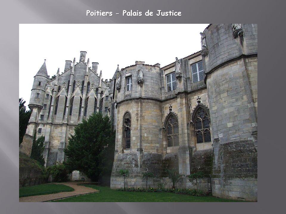 Poitiers - Palais de Justice