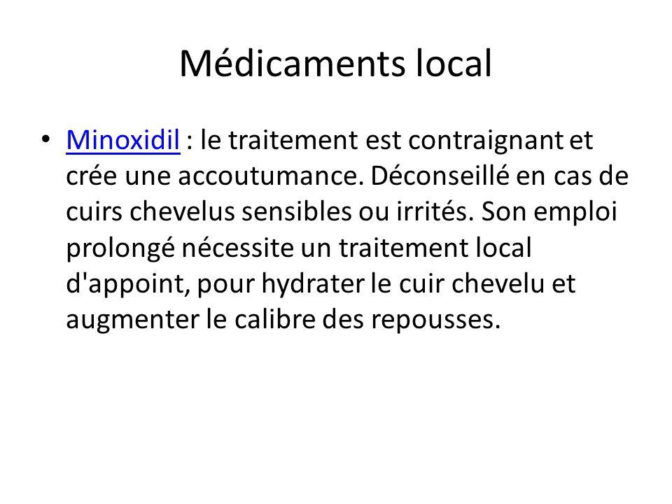 Médicaments local