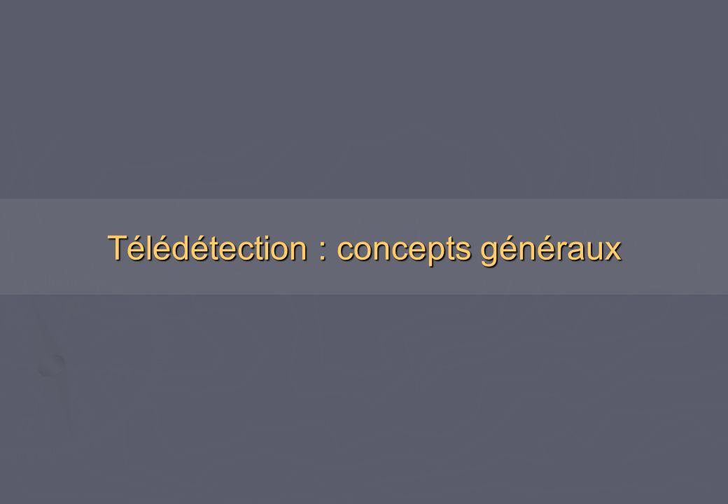 Télédétection : concepts généraux