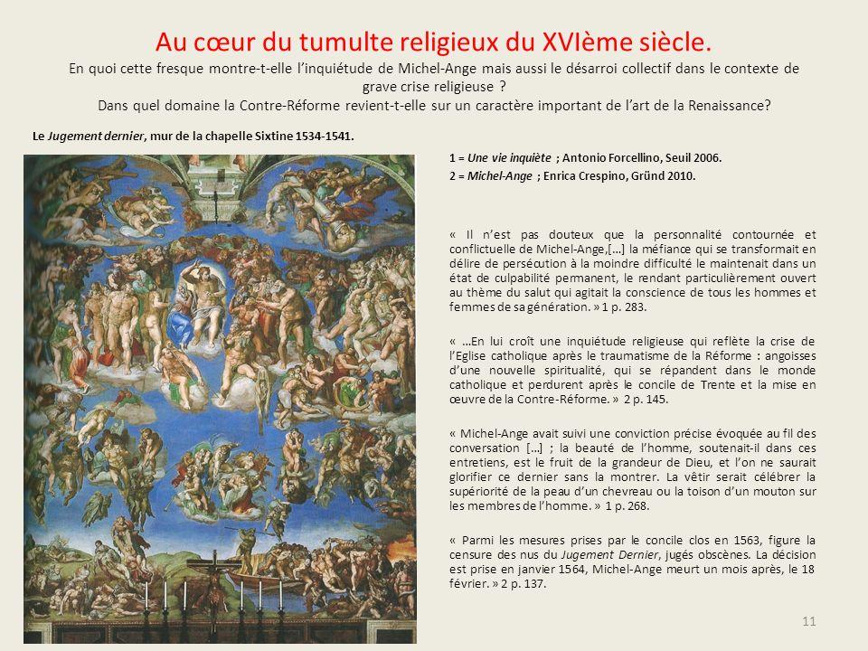 Au cœur du tumulte religieux du XVIème siècle